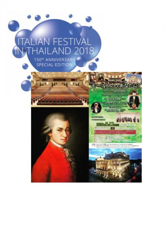italian festival in Thailand 2018